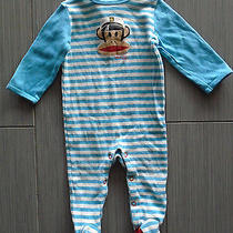 Paul Frank Baby Boy Footed One-Piece 9 M Photo