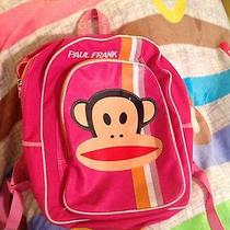 Paul Frank Backpack Book Bag  Pink Photo