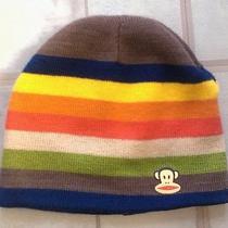 Paul Frank Beanie Hat Rainbow Nwot Pride Monkey Logo Skater Grunge Ships Free  Photo
