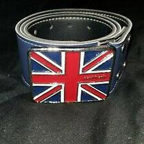 Paul Frank Belt With Union Jack Buckle  Photo