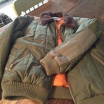 Paul  Frank  Bomber Jacket Mens Med. Green  Photo