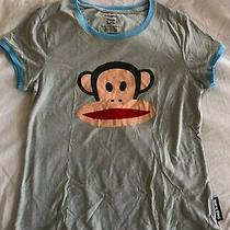 Paul Frank for Target Gray Julius Monkey Graphic Womens Size L T Shirt  Photo