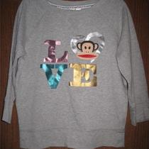 Paul Frank for Target Heather Gray Love Sweatshirt Size Xs Photo