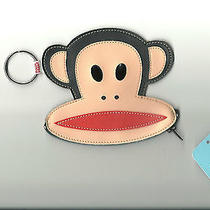 Paul Frank Julius Die Cut Zipper Coin Purse & Key Ring Authentic  Photo
