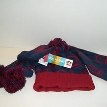 Paul Frank Julius Monkey Youth Stocking Hat Mittens Scarf Set Blue Red One Size  Photo