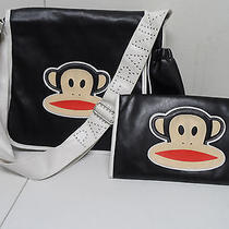Paul Frank Messenger Diaper Bag With Changing Pad  Photo