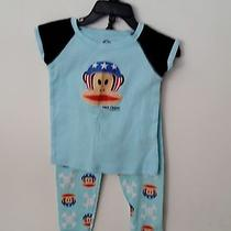 Paul Frank Pjs - 100% Cotton - Excellent Condition 2t Runs Very Small Like 12mos Photo