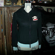 Paul Frank Trendy Jet Black  Knitted Hoodie Size S Photo