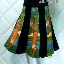 Paul Gauguin Hail Mary a Line Patchwork Skirt Fine Art Print Xl Photo