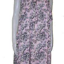 Paul & Joe Sister Pink Tiger Scene Artist Smock Dress Sz L Photo
