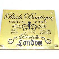 Paul's Boutique Large Designer Badge for Luggage/purse/bag/clothing 9.1 X 7.4cm Photo