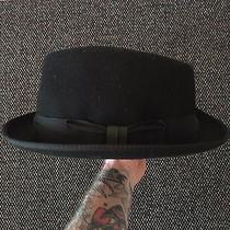 Paul Smith by Christys' Men's Black Wool Trilby Hat Us Size 7 1/4 Nwt 175 Photo