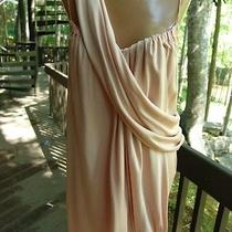 Paul Smith Couture Pink Peach Blush Sash Unique Silk Dress M New Tags 1820 M 40 Photo