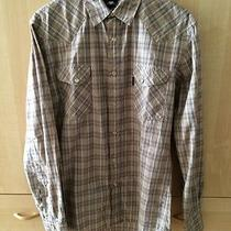 Paul Smith Jeans Apc Checked Western Shirt Size S Photo