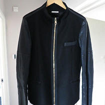 Paul Smith Leather Wool Jacket Large Apc Balmain Margiela Dior Photo