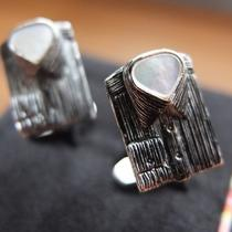 Paul Smith Mother of Pearl Insert Shirt Cufflinks Photo