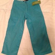 Paulina Quintana New W Tags Torquoise Aqua Pants 3t Photo