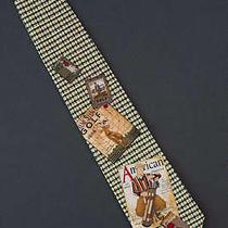 Payne Stewart Golf & Other Books - Tie Necktie Photo