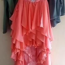 Peach Colored Prom Dress Photo