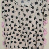 Peacocks Blush Pink Heart Tshirtelasticated Hemsize 10 Photo