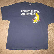 Peanut Butter Jelly Time Family Guy Brian Griffin Men's T-Shirt Sz Xl Photo