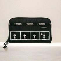 Peanuts X Lesportsac Black Wallet Photo