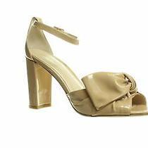 Pelle Moda Womens Faith Blush Patent Ankle Strap Heels Size 8.5 (866039) Photo