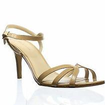 Pelle Moda Womens Roslyn Blush Patent Ankle Strap Heels Size 10 (1186847) Photo