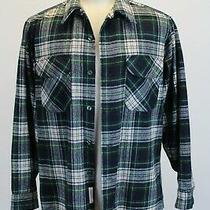 Pendleton Authentic Campbell Tartan Plaid Shirt Size Large Green Wool  Photo