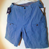 Penfield Blue Corduroy Men's Shorts Waist 36