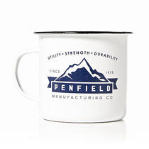 Penfield Enamel Camp Mug White New in Box Photo
