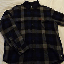 Penfield Flannel Xl Blue Photo