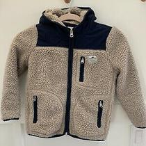 Penfield Manufacturing Co Kids Carson Hooded Pile Fleece Jacket Sherpa Size 7-8 Photo