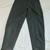 Penfield Pants Gore-Tex Black Legs Have Side Zippers Back Pocket Size M Photo