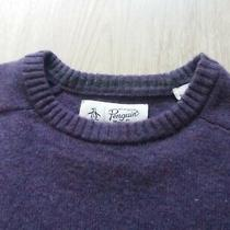 Penguin Lamb Wool Sweater Size M Long Sleeve Photo
