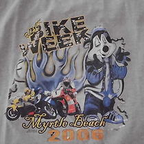 Peppy Le Pew Black Bike Week Myrtle Beach 2006 Tank Top Adult Xl  Photo