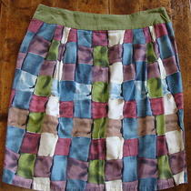 Perfect Anthropologie Ipsa Stained Glass Pencil Skirt Multi 10 M Photo
