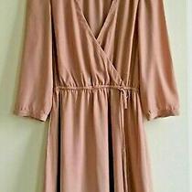 Perfect Condition - Hm Women's Pink Blush Coloured Dress - Size - Eur 36 Photo