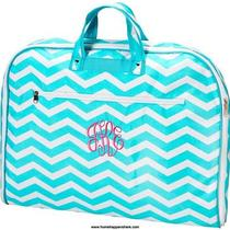 Personalized Aqua Blue Chevron 38
