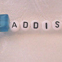 Personalized Keychain or Zipper Pull With the Name Addison-Hand Made-New Photo