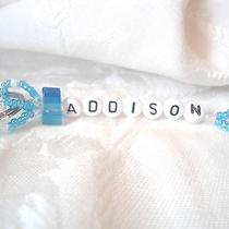 Personalized Keychain or Zipper Pull With the Name Addison-Handmade-Brand New Photo