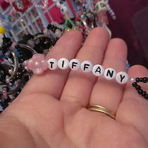 Personalized Keychain or Zipper Pull With the Name Tiffany-Hand Made-Brand New Photo