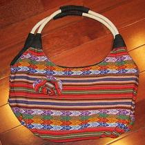 Peruvian Hobo Bag With Traditional Designs Photo