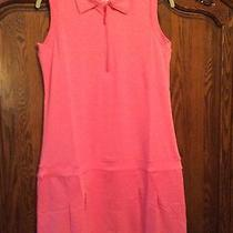 Peter Millar E4 Per4mance Elements Pink Golf Athletic Dress -Medium Photo