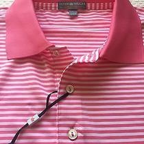 Peter Millar E4 Per4mance Elements Summer Comfort Golf Polo L Pink Nwt Photo