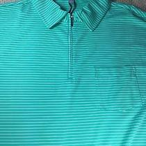 Peter Millar E4 Per4mance Elements Summer Comfort Polo Xl Green Msrp 89.50 Photo