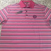 Peter Millar Medium M E4 Element Summer Comfort Polo Golf Shirt Nwt Photo