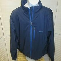 Peter Millar Water Element Whitetail Run Golf Club Full Zip Blue Jacket Men's Xl Photo