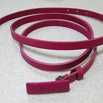Peter Som Wraparound Pink Leather Belt Photo