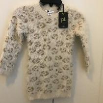 Petit Lem Little Girl's Textured Pullover Sweater Dress Sz 2 New With Tags Photo